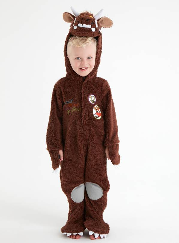 The Gruffalo Brown All In One Costume - 7-8 years