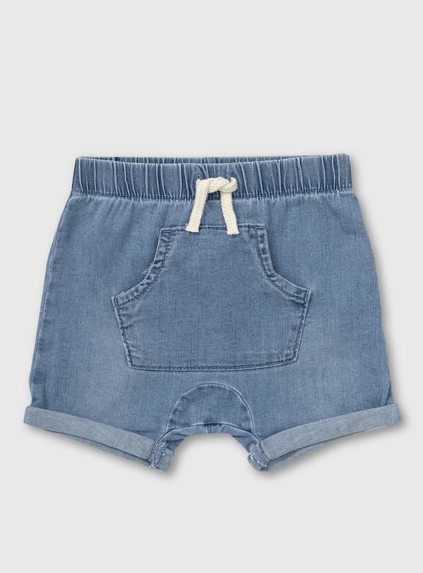 Denim Shorts - 18-24 months