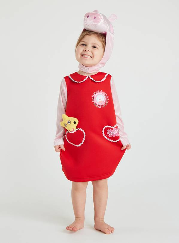 Peppa Pig Red Costume - 2-3 years