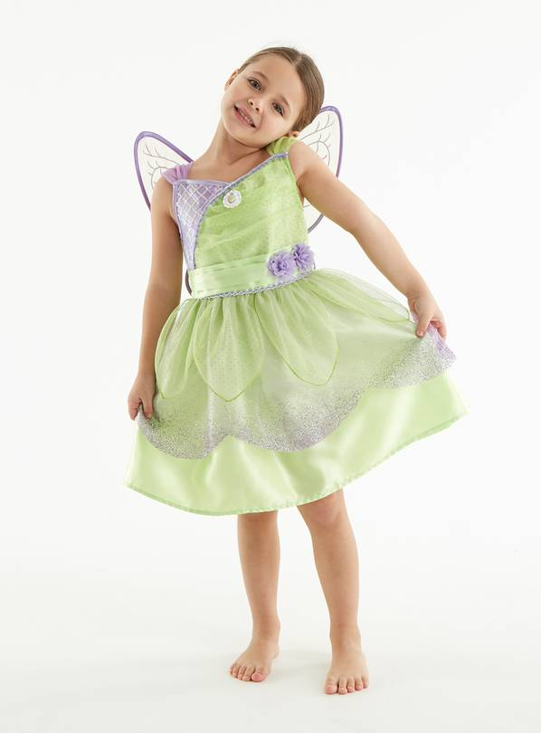 Lil Tinkerbell Dress Girls Fancy Dress Costume