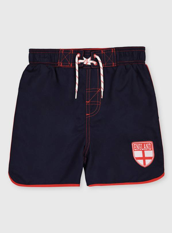 England Navy Swim Shorts - 6 years