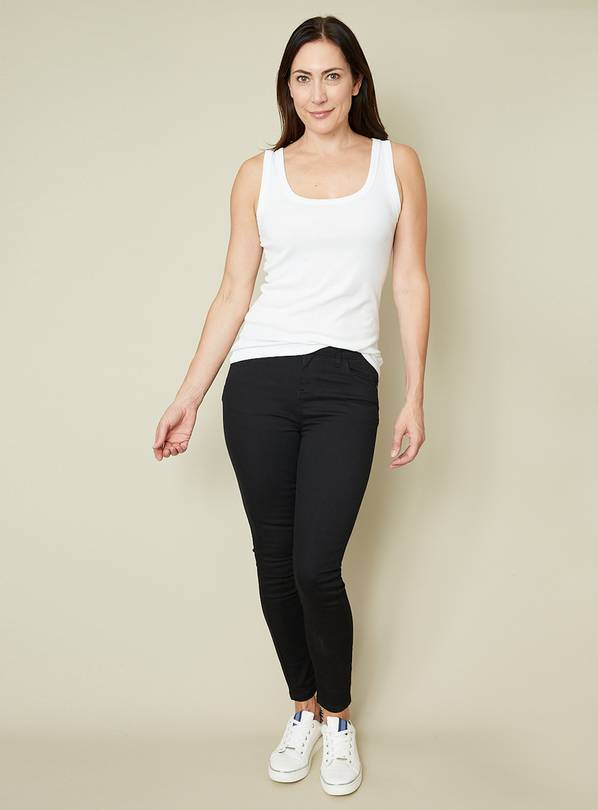 Black Sculpt & Lift Skinny Jeans - 10R