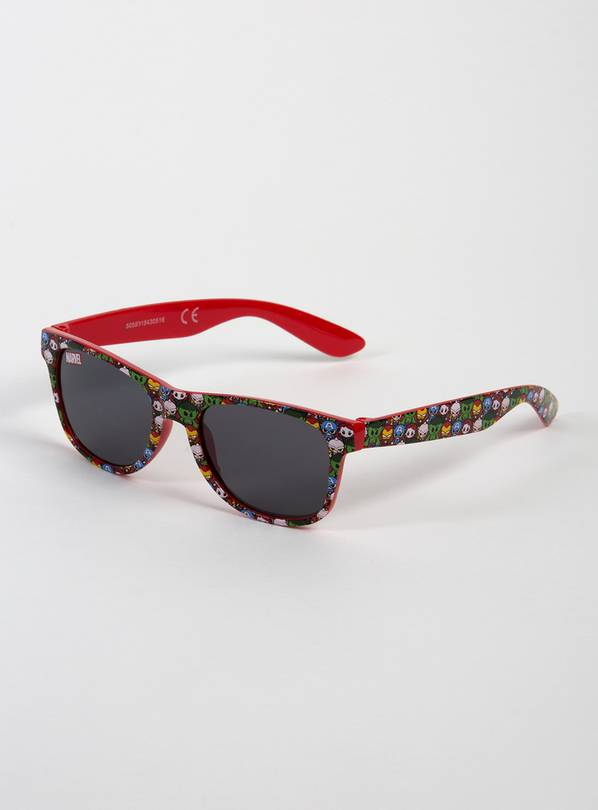Marvel Avengers Print Red Sunglasses - One Size