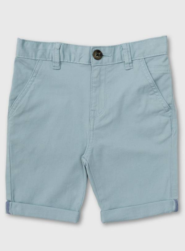 Pale Blue Chino Shorts - 5 years