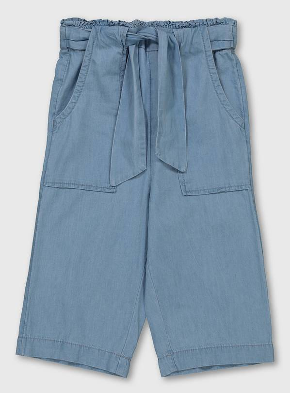 Buy Light Wash Denim Culottes 4 Years Jeans And