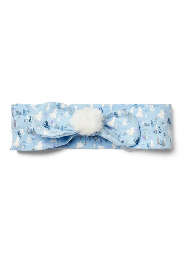 Disney Frozen 2 Blue Pom-Pom Headband - One Size