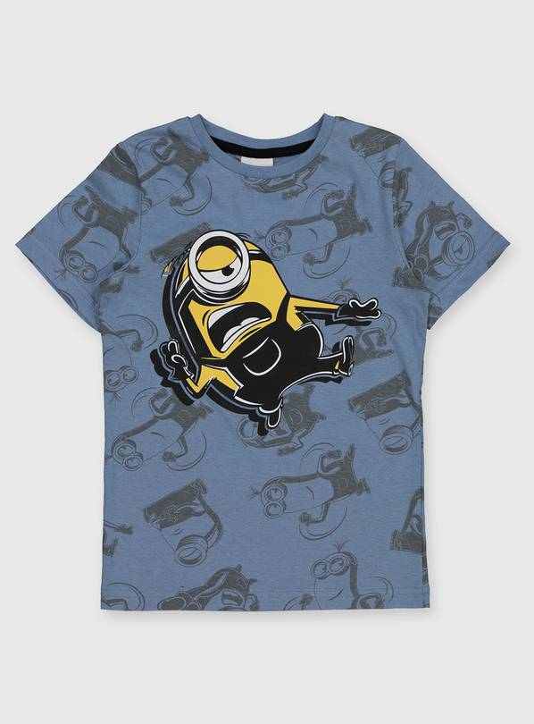 Minions Blue Character T-Shirt - 11 years