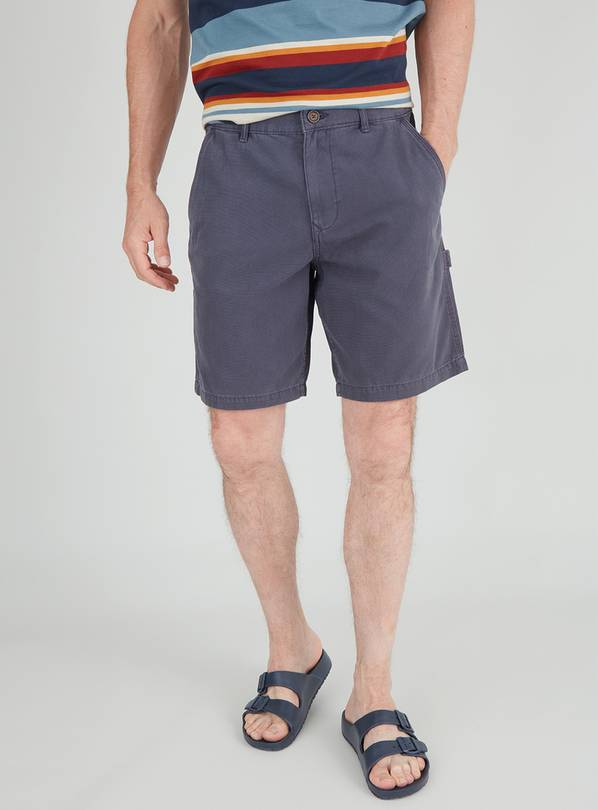 Navy Carpenter Shorts - 42