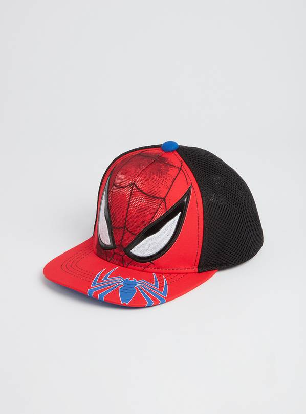 Marvel Spider-Man Red Cap - 6-9 years