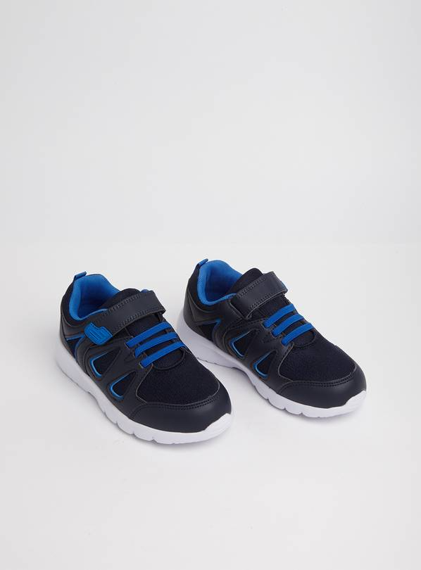 Navy & Blue Trainers - 9 Infant