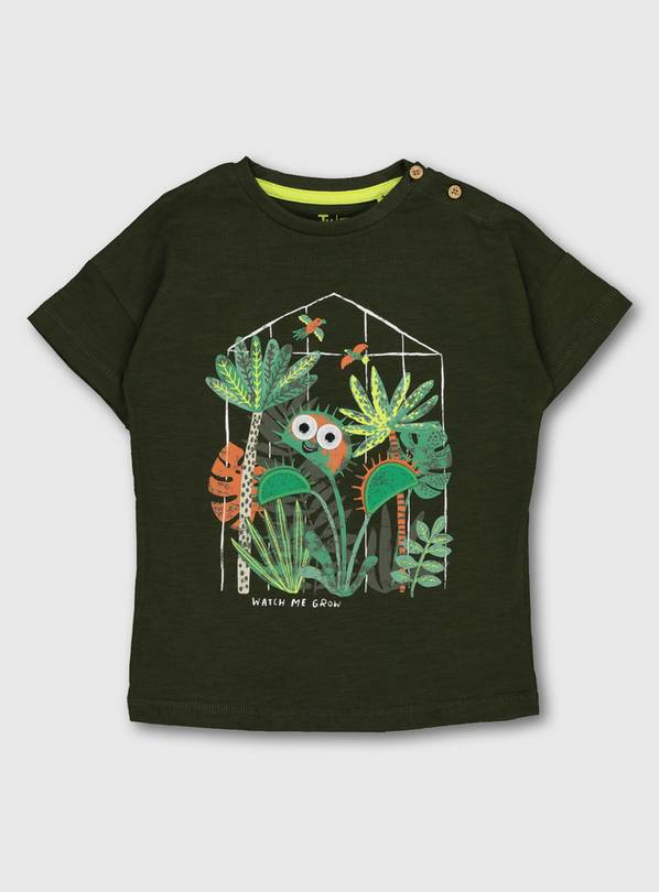 Green Venus Flytrap Graphic T-Shirt - 1-1.5 years