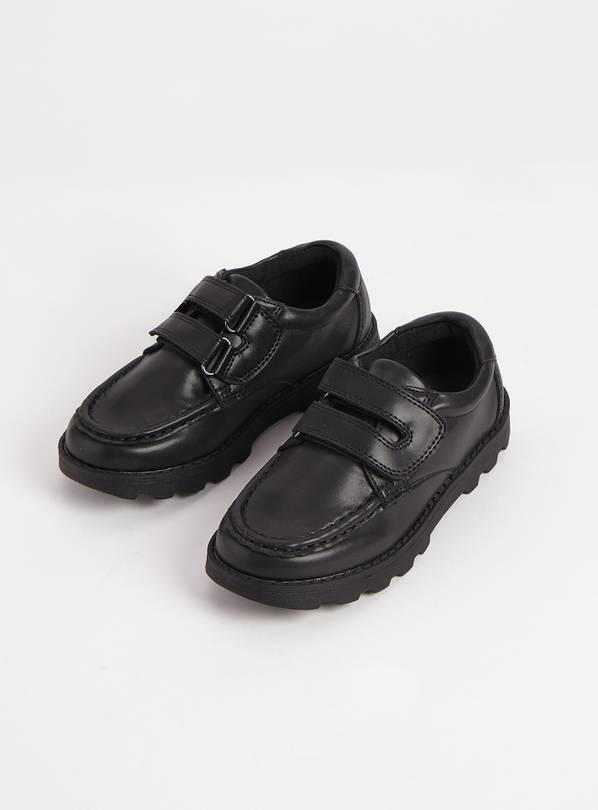 Black Wallaby School Shoes - 10 Infant
