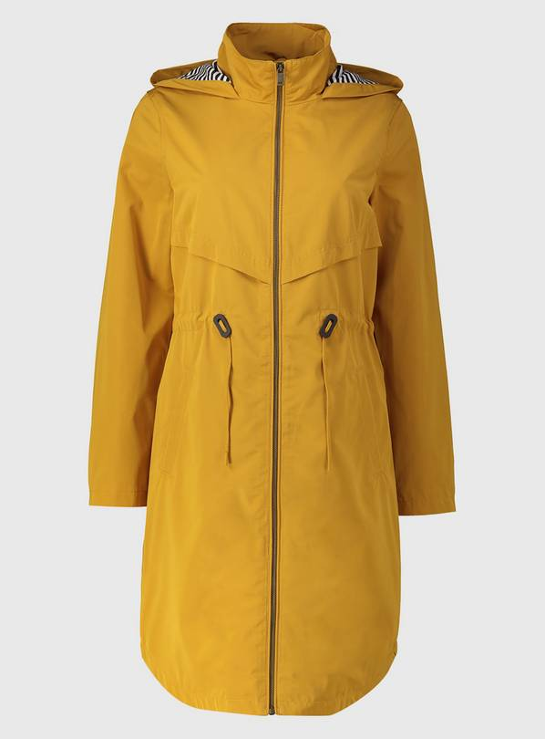Yellow Shower Resistant Longline Raincoat - 14