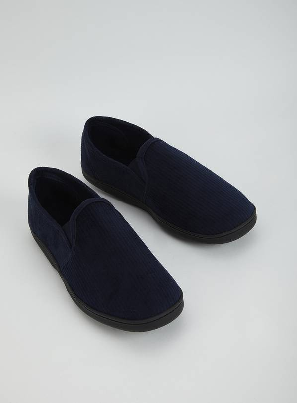 Navy Full Slipper With Arch Support - 12