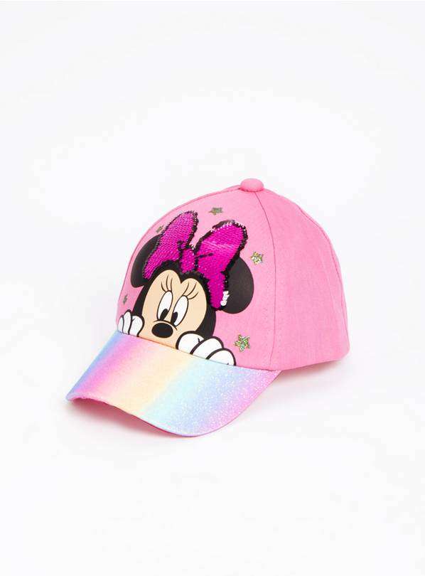 Disney Minnie Mouse Pink Cap - 6-9 years