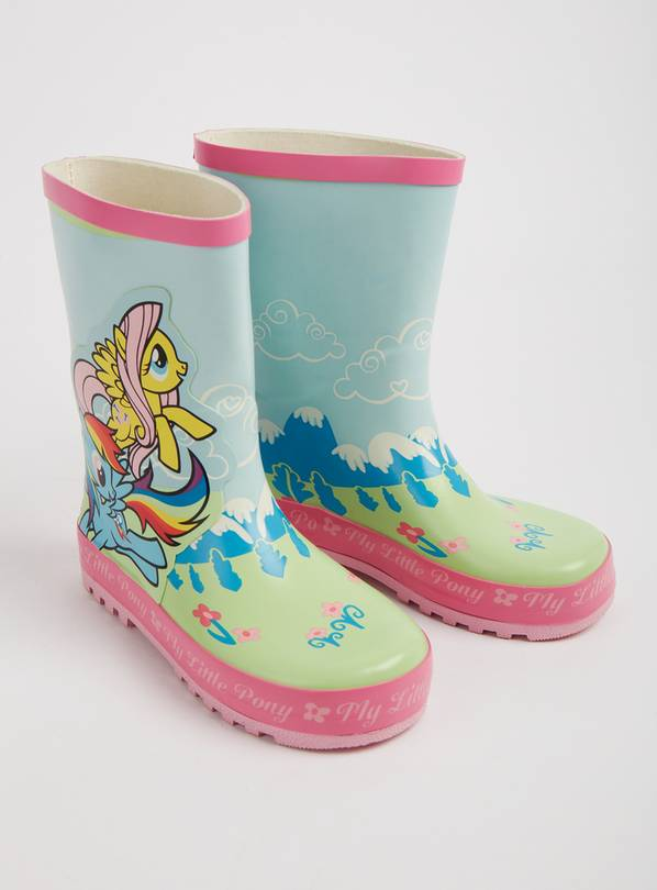 My Little Pony Blue Wellies - 10 Infant