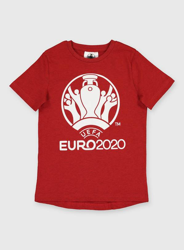 UEFA EURO 2020 Red T-Shirt - 11 years