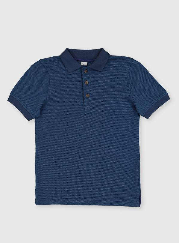 Navy Polo Shirt - 4 years
