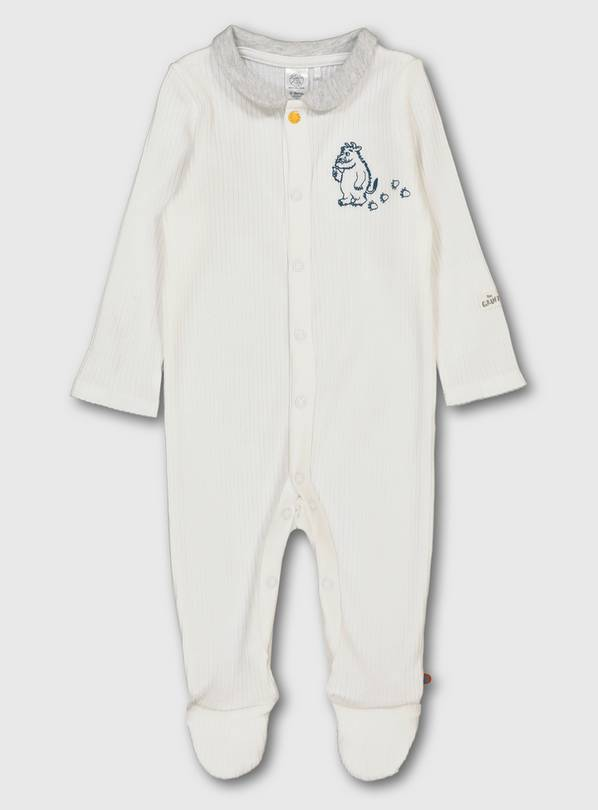 The Gruffalo Ribbed Sleepsuit - 3-6 months