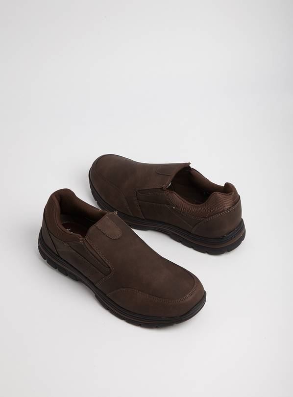Sole Comfort Brown Slip On - 8