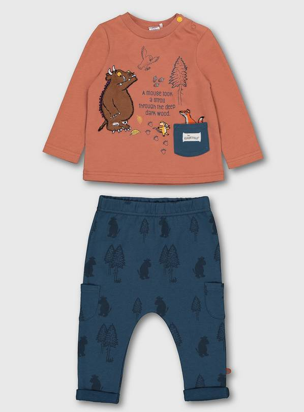 The Gruffalo Top & Joggers Set - 9-12 months