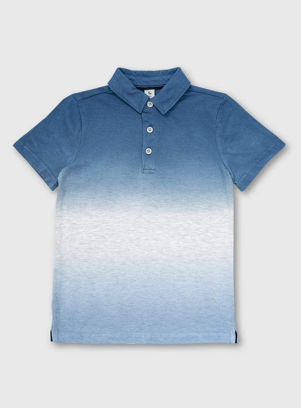 Blue Ombré Polo Shirt - 5 years