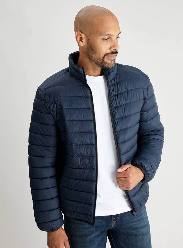 Navy Eco Thermolite Padded Shower Resistant Jacket - XXXL