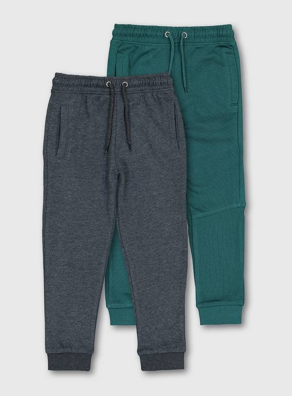 Green & Charcoal Joggers 2 Pack - 5 years