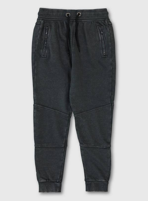 Charcoal Joggers With Drawstring Waist - 8 years