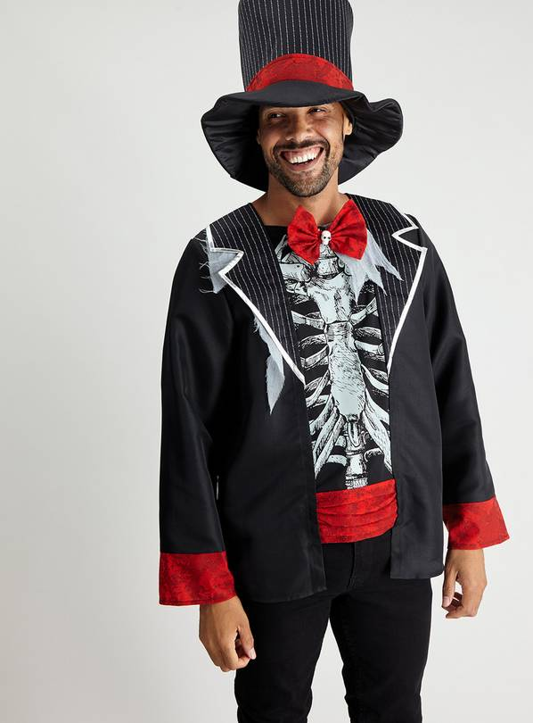 Halloween Day of The Dead Costume Set - S/M