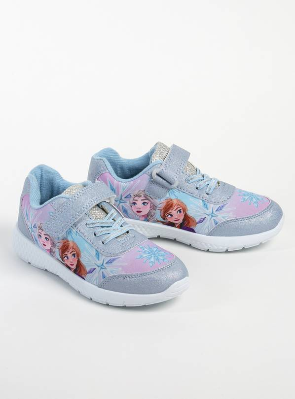 Disney Frozen Blue Anna & Elsa Trainers - 8 Infant