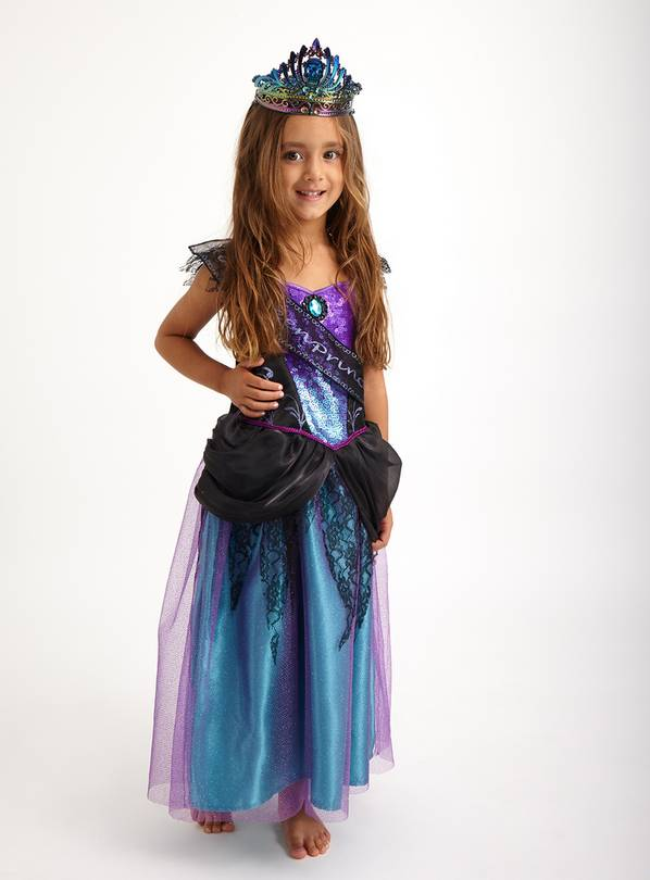 Halloween Purple Princess Costume - 3-4 Years