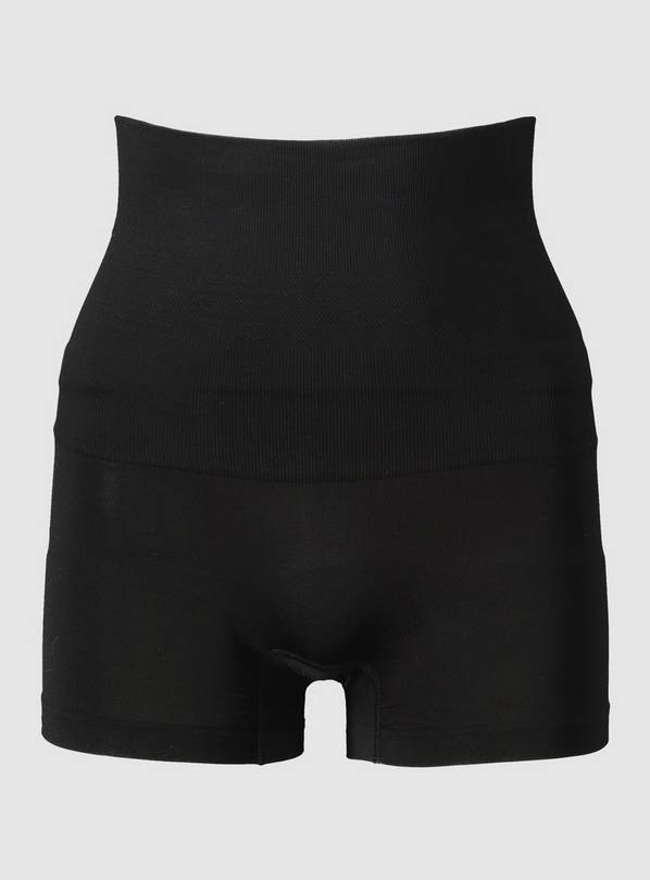 Secret Shaping Black Seamless Shorts - XXL