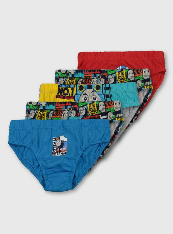 Thomas & Friends Briefs 5 Pack - 18-24 months