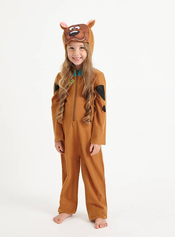 Halloween Scooby Doo All In One Costume - 3-4 Years