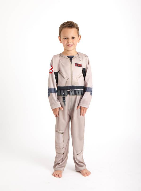 Ghostbusters Costume Set - 5-6 years