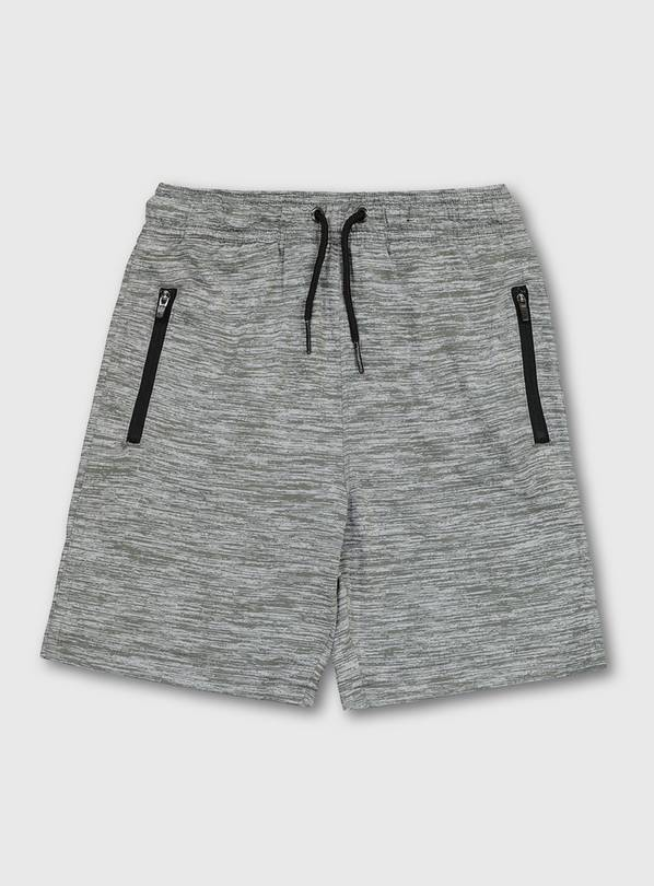 Grey Marl Active Shorts - 4 years