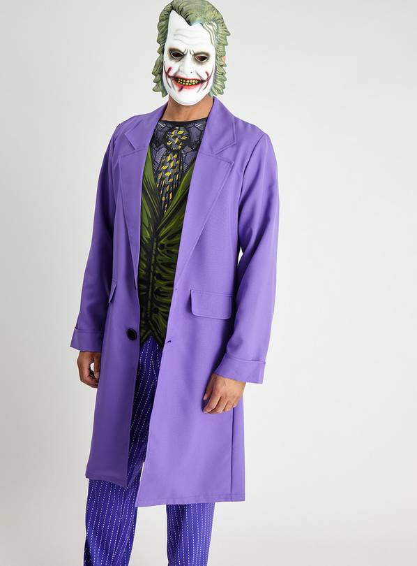 DC Comics The Joker Purple Costume & Mask - XL