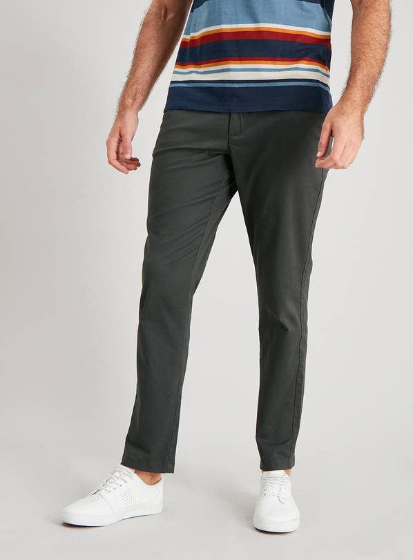 Slim Fit Chinos With Stretch - W40 L30