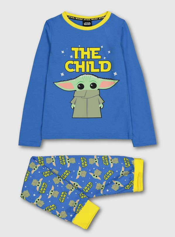 Star Wars Yoda Blue Pyjamas - 10-11 years