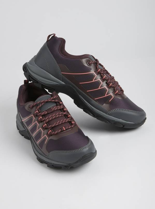 Sole Comfort Purple Hiker Trainers - 8