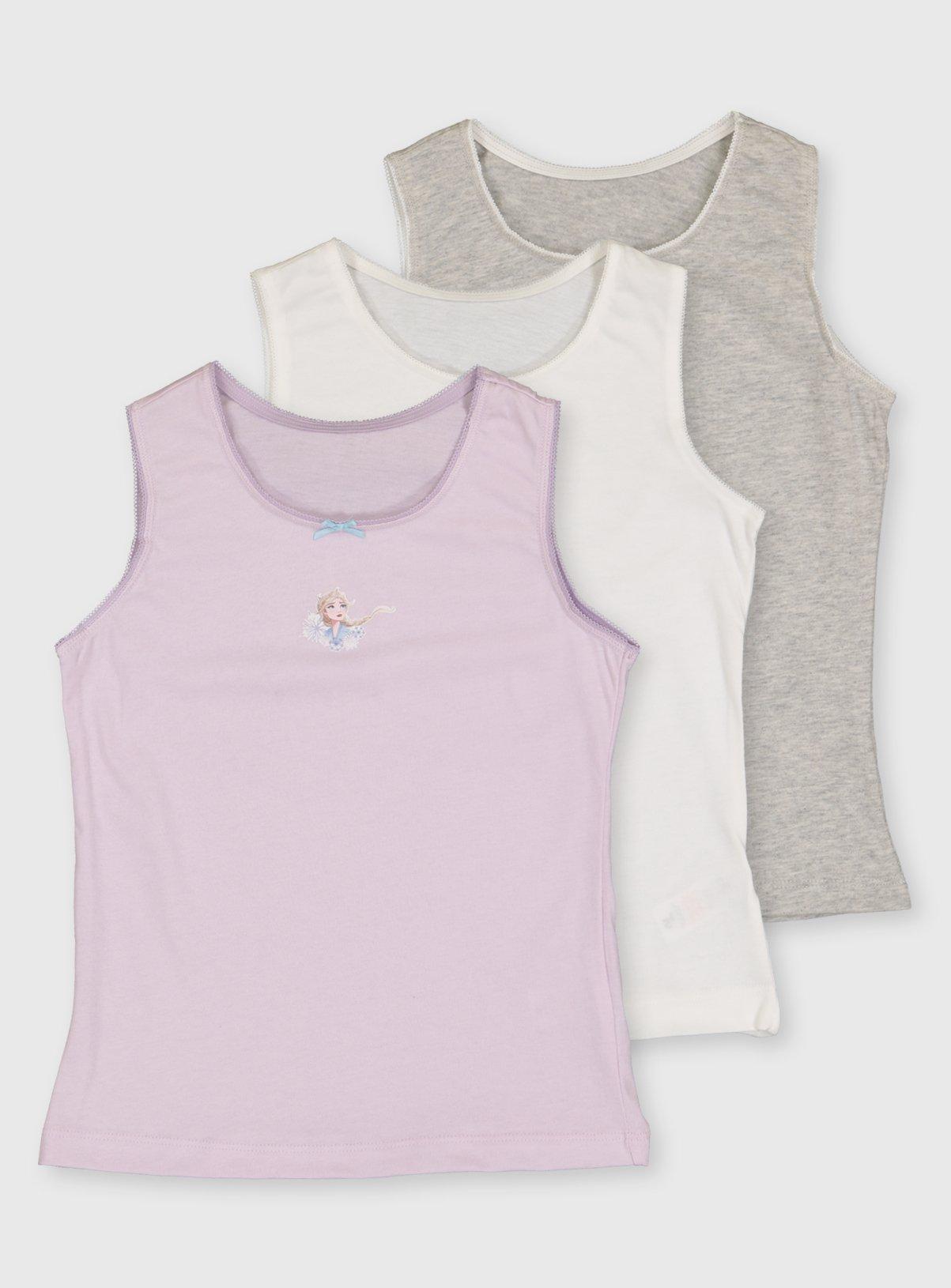 Disney Frozen Vests 3 Pack - 4-5 years