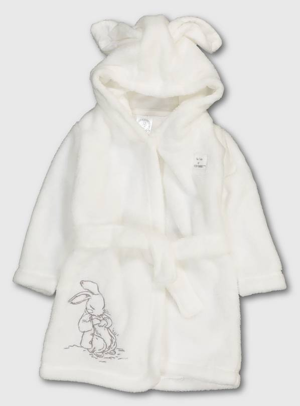 Peter Rabbit White Dressing Gown - 9-12 months