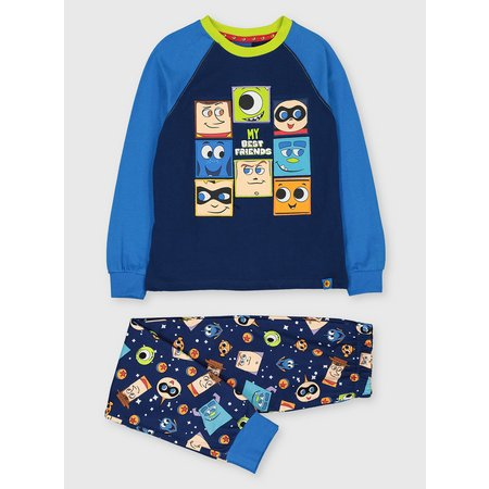 Disney Pixar Blue Character Pyjamas & Socks Set - 5-6 years