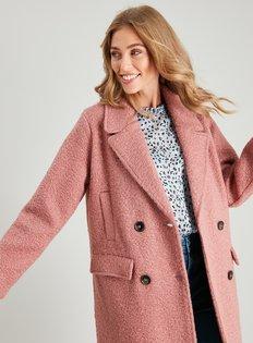 2019 short wool coat belt jacket new petite short woolen