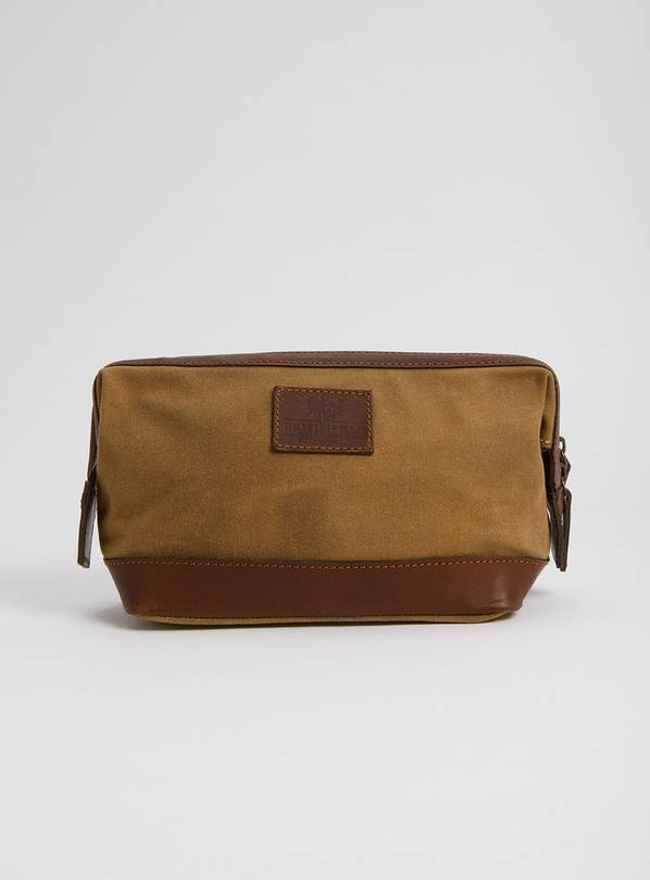 THE BRITISH BAG COMPANY Tan Wash Bag - One Size
