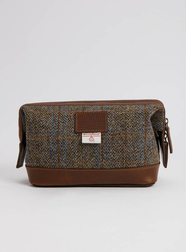 Brown Wash Bag - One Size