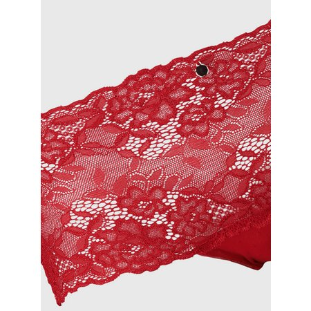 Red Galloon Lace Knicker Shorts - 18