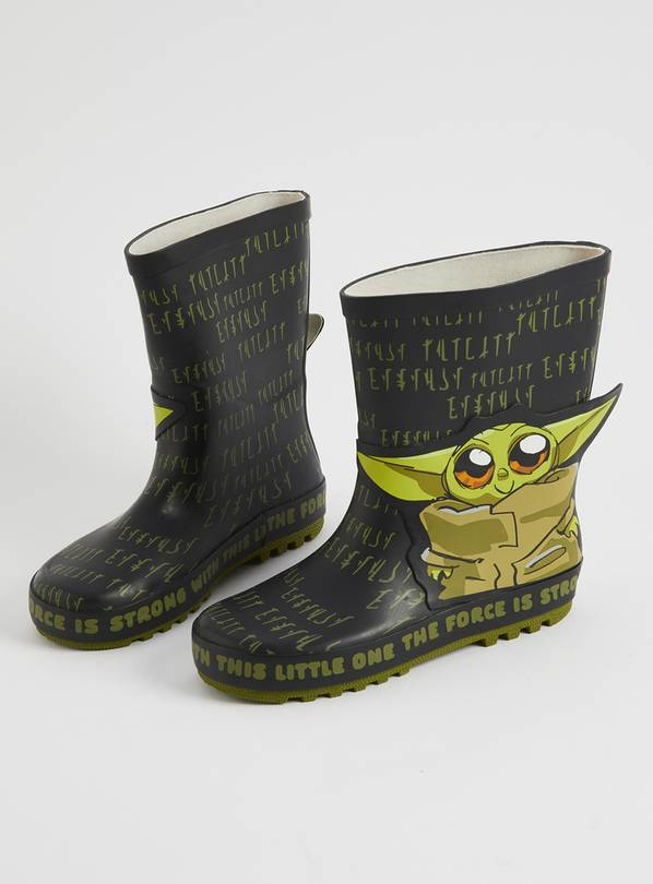 Star Wars Khaki Yoda Wellies - 1