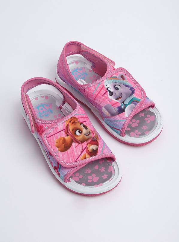 Paw Patrol Pink Adventure Sandals - 9 Infant